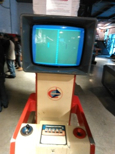 This is the Pong-esque game that I mentioned. I won, making it the only game of the afternoon I beat.