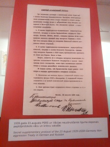 Here's one of the documents from the conquering powers that deals with Latvia.