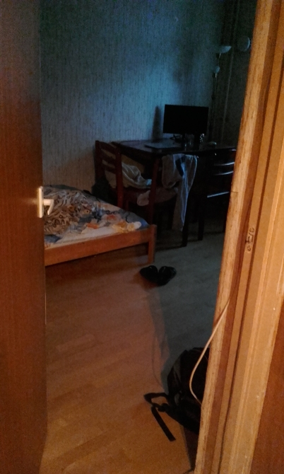 Flatmate's apartment.