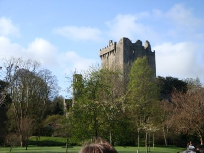 The popular tourist destination: Blarney Castle.