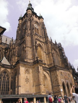 Saint Vitus Cathedral, Prague.