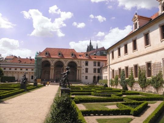 Valdštejn Palace, Prague.